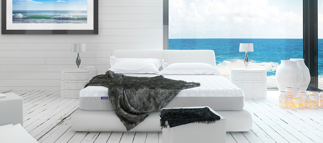 Zotto mattress on display